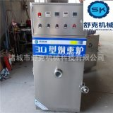 厂家直供通道式500烟熏炉 QXZ-500烟熏炉的价格 蒸汽加热烟熏炉