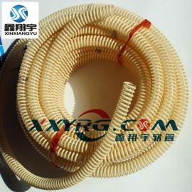 深圳鑫翔宇食品级输送软管, 卫生级pu塑筋增强软管, 透明塑料管