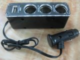亞天ASIA525一拖三點菸器擴充CE認證一拖三車載點菸器帶USB