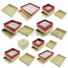 泰和包装THP1700特种纸首饰盒(带抽屉)