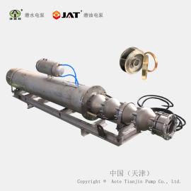 不锈钢卧式潜水泵, 大流量卧式潜水电泵, 津奥特卧用泵