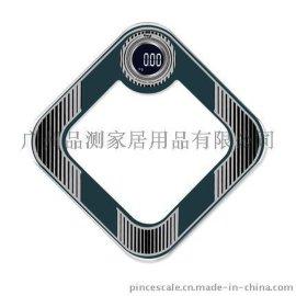 品测菱形电子人体秤钢化玻璃电子称人体秤体重秤带语音播报功能