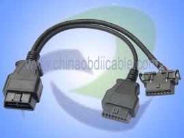 OBD2连接线