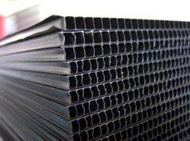 聚丙烯工程塑料 pp板 中空PP板 黑白彩色尺寸任意