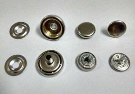 多规格多款式环保四合扣 金属四合扣 胶圈款四合扣