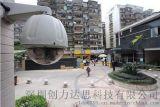 首家深圳视频监控系统工程安装,1千米无需电缆供电与光纤布线