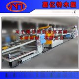 pvc地板基材生产线/结皮发泡板生产线-板材生产线
