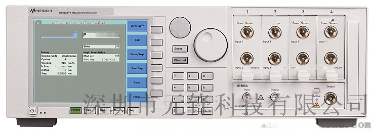 Keysight 81655A 单法布里-珀罗激光源 1310 nm