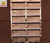 定制小区不锈钢信报箱 镀色玫瑰金立式信报箱
