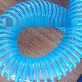 山东防静电PU塑筋螺旋软管食品级吸料管50mm批发代理商厂家