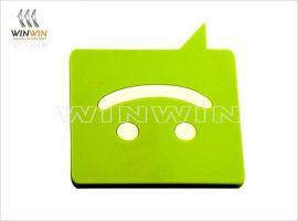 创意PVC杯垫 精致pvc软胶杯垫(可加logo定制)厂家定制