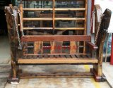 廠家直銷老船木搖搖椅別墅花園鞦韆椅陽臺休閒椅吊椅靠背椅