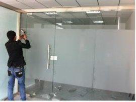 昆山钢化玻璃门玻璃门维修