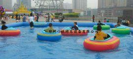 心悦游乐儿童水上碰碰船水上游乐项目