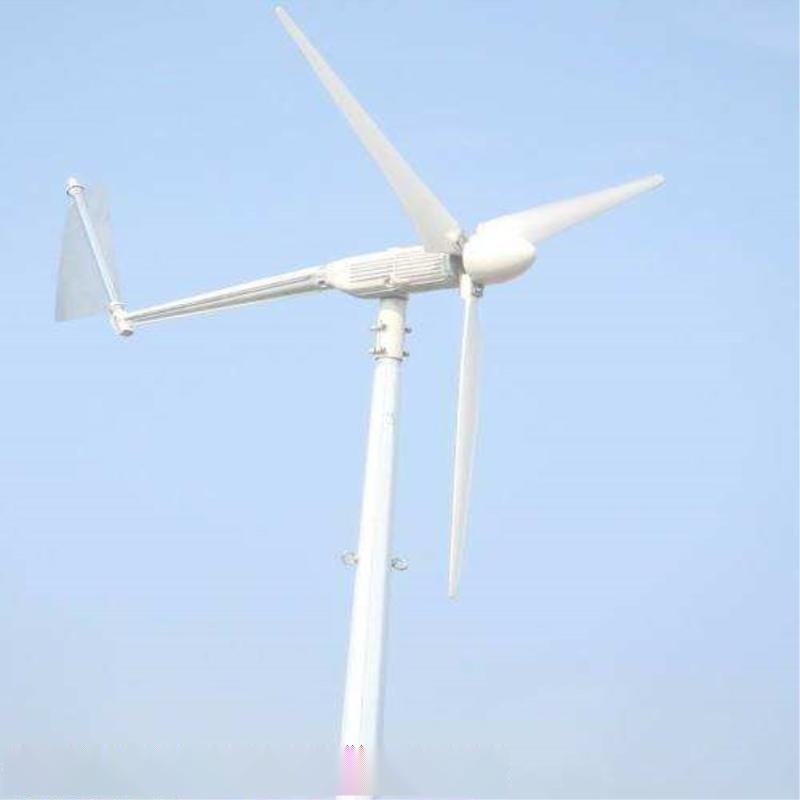 5000瓦/w离网型垂直低速高效永磁风力发电机山东晟成厂家供应