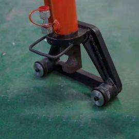 小型液压手动钢筋折弯机 32型钢筋弯曲机 手提式液压钢筋弯曲机