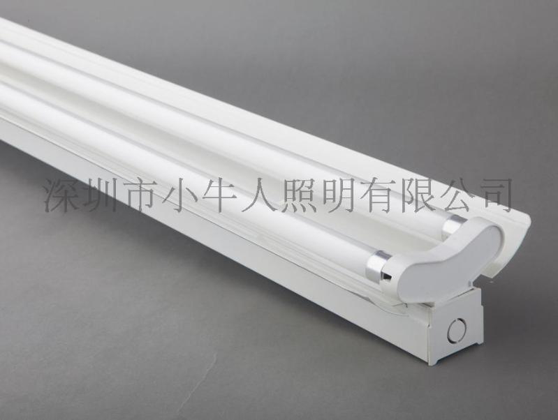 1.2M規格T5 2*28W雙支帶罩熒光燈T5雙支日光燈