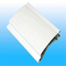 富阳厂家供应77型铝合金帘片 0.8 mm 厚 电动铝合金卷帘门 铝型材卷闸门
