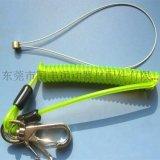 供應防失手包膠彈簧鋼絲繩
