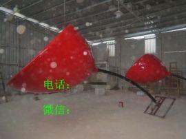 广州玻璃钢仿真花朵雕塑 玫瑰花雕塑 植物百合花雕塑厂家直销