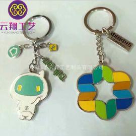 卡通动漫钥匙扣订做 烤漆滴胶小礼品匙扣生产 广州钥匙扣厂家