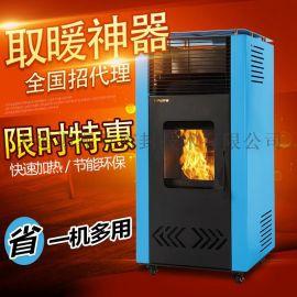 生物质颗粒取暖炉 炉派厂家直供