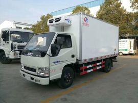 4.2米冷藏車藍牌冷藏車大全