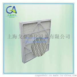 江苏无锡防水纸框折叠初效板式过滤网 G4板框初效折叠过滤器