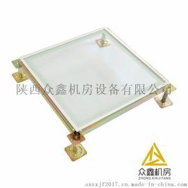 慶陽防靜電地板安裝,機房玻璃防靜電地板產品特點