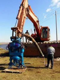 山东江淮JHW渣浆泵40吨挖掘机河道潜污泵买家推荐