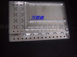 供SMT车间邦定铝盘大小铝烘烤托盘 LED料盘