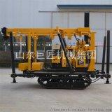 巨匠XYD-130液壓岩心鑽機130米履帶地質鑽機