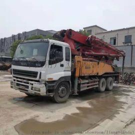13年三一52米泵车二手泵车混凝土泵车