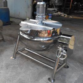 煮扒鸡夹层锅 侧翻搅拌夹层锅