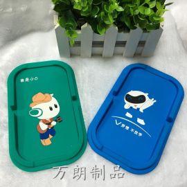 工厂订做pvc软胶防滑垫 oppo手机礼品防滑垫