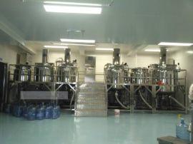 供应食品真空均质乳化机 电加热成套乳化设备