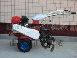 手扶式柴油旋耕機,水旱兩用耕地機,山地開荒旋耕機正立