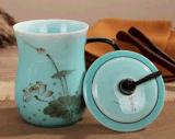 企業年終紀念禮品茶杯定製
