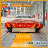 BHX滑觸線電動平車長距離高強度車間轉運過跨車搬運擺渡平板車