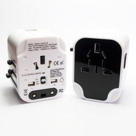 2017新款转换插座 万能转换插座 全球通用旅游转换插座 多功能旅游充电器