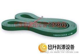 工业皮带 黄绿面传动皮带  片基带 橡胶皮带 PVC皮带 硅胶皮带 机械传动皮带