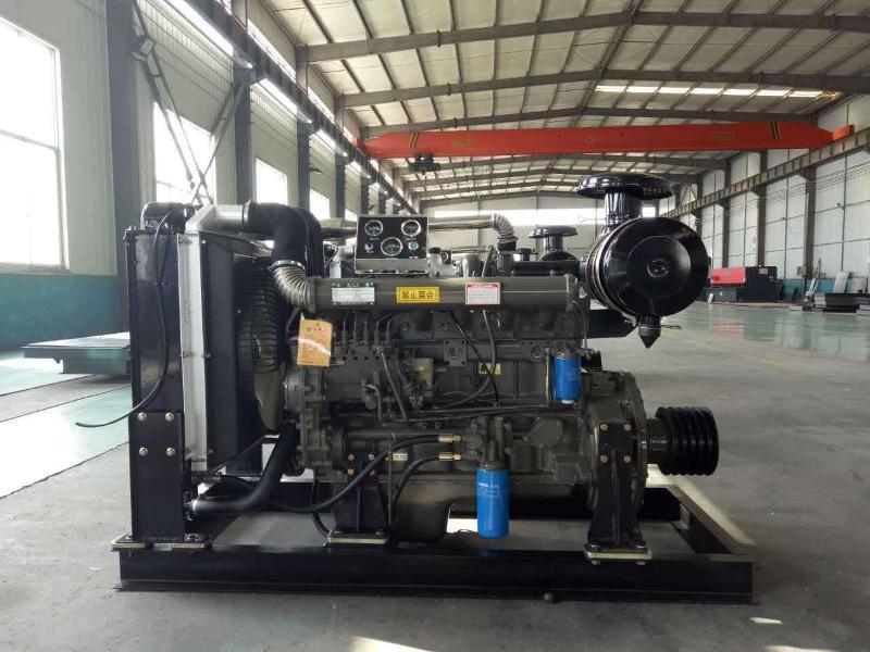 代替市电的柴油机动力打草机矿山破碎机用柴油机发动机6105可配套离合器皮带轮潍坊鲁柴13375369201