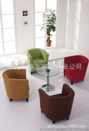 布艺沙发椅,咖啡厅布艺休闲沙发