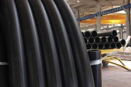 环保黑色PE100给水供水管 hdpe给水管