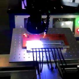 資料線鐳射焊接機資料線遮罩罩焊接