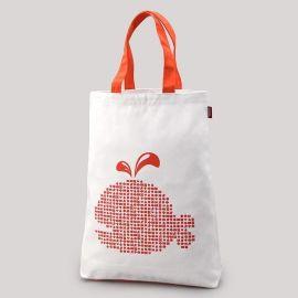定做个性环保手提帆布袋服装广告购物袋可印图案