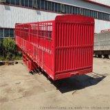 供应高强度DFFDS13米仓栏半挂车