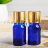 广州玻海玻璃5ml蓝色精油瓶YB