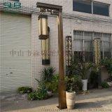 泰禾樓盤景觀燈中式仿古庭院燈電鍍拉絲古銅特色工程燈