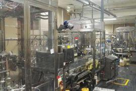二手日货灌装生产线设备配套齐全